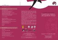 pieghevole - Facoltà di Scienze della Formazione
