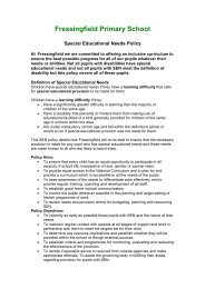 Special Educational Needs Policy