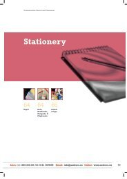 Stationery - Anderco