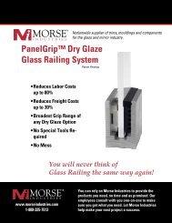 Panel Grip Railing - Morse Industries