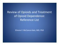 Reference List - PCSS-O