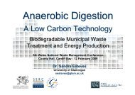 Anaerobic Digestion, A Low Carbon Technology - The Wales Centre ...