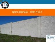 Noise Barriers - FUCC
