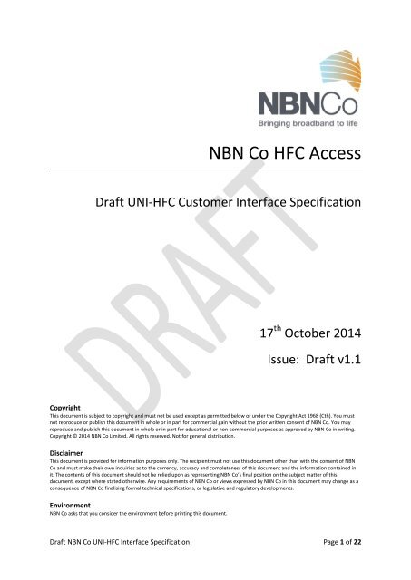 Nbn Hfc Installation