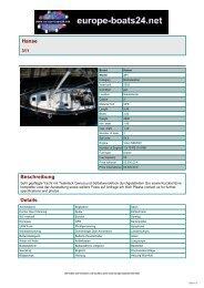 Hanse Beschreibung Details - Boats, Yachts on europe-boats24.net