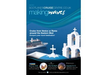 Making Waves A5 40pp April12 - Scotland's Cruise Centre