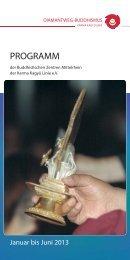 Gedruckte Version des Programms der Buddhistischen Zentren der ...