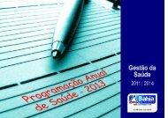 PAS - 2013.pdf - Secretaria da Saúde