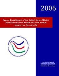 resumen del foro binacional sobre investigacion en la frontera