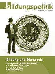 Bildung und Ökonomie - vpod-bildungspolitik