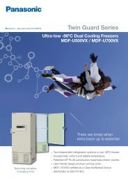 Dual Cooling Brochure - Panasonic Biomedical
