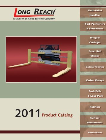 2011 product catalog - Allied Systems Company