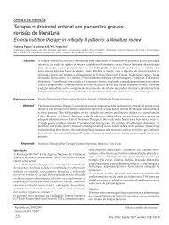 Terapia nutricional enteral em pacientes graves - Revista Arquivos ...