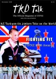 TKD TALK 6-00 - International Taekwon-Do