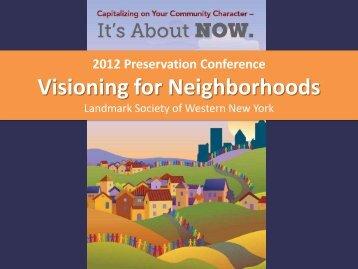 Presentation by Roger Brown - Landmark Society   of Western New ...