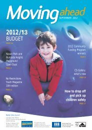 Moving Ahead September 2012 (PDF) - Melton City Council