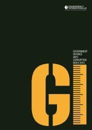 corruption index 2013 - Transparency International Österreich