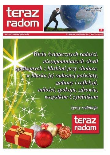 2012-12-20 - Teraz Radom