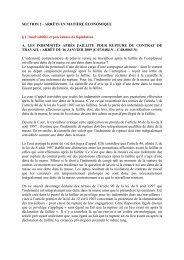 rapport annuel 2009 - Juridat