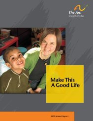 Make This A Good Life - Arc Greater Twin Cities