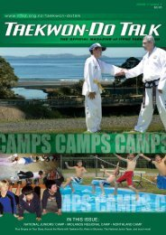 IN THIS ISSUE: - International Taekwon-Do