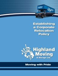 Establishing a Corporate Relocation Policy - Starline Overseas Moving