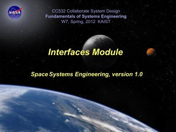 Interface - Systems Modeling Simulation Lab. KAIST