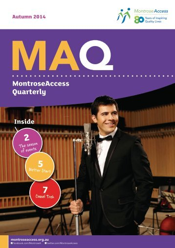 MAQ Newsletter Autumn 2014