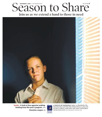 Join us as we extend a hand to those in need - Denver Post ...