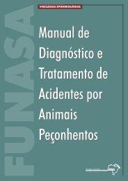 Manual de Diagnóstico e Tratamento de Acidentes por Animais ...