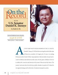 U.S. Senator Daniel K. Inouye - Ailadownloads.org