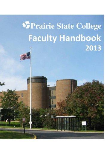 Faculty Handbook - Prairie State College