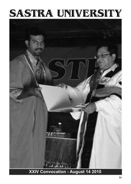XXIV Convocation - August 14 2010