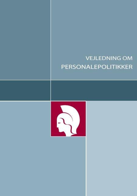 Vejledning om personalepolitikker - Plesner