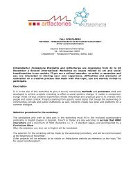 CALL FOR PAPERS Second International Workshop ... - On the Move