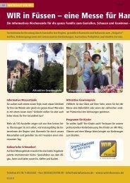 WIR in Füssen – eine Messe für Handwerk, Han
