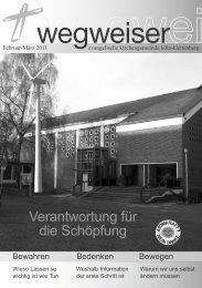 Verantwortung für die Schöpfung - Lesenswert - Evangelische ...
