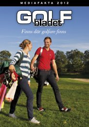 Hämta prislista och teknisk information i PDF-format - Golfbladet