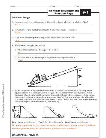 15 Physics study Guide Key
