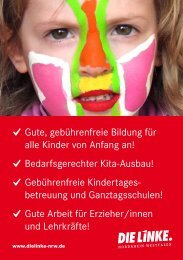 Der Kita-Flyer - Wahl2013