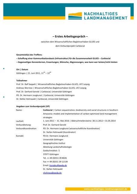 Vorlage Briefbogen Nachhaltiges Landmanagement