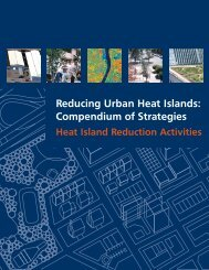 Reducing Urban Heat Islands - Environmental Initiative