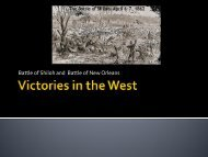 Victories in the West