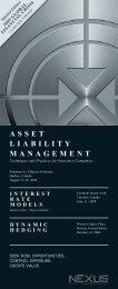 Asset LiAbiLity MAnAgeMent - Nexus Risk Management