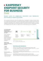 Kaspersky endpoint security for business core - Kaspersky Lab