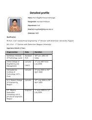 Detailed profile - SIT