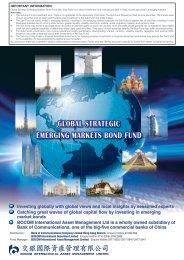 GLOBAL STRATEGIC EMERGING MARKETS BOND FUND