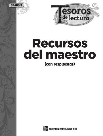 Grado 5 - MacMillan Tesoros - Macmillan/McGraw-Hill