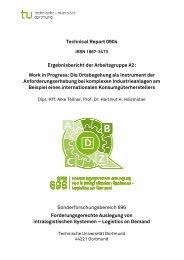 Technical Report 0904 Sonderforschungsbereich 696 ... - SFB 696