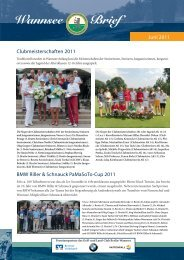 Wannsee Brief Juni 2011 - Der Golf- und Land-Club  Berlin ...